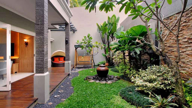 Jasa Pembuatan Taman Minimalis Jakarta | WA 085860284651